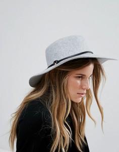 Шляпа с плоскими полями и веревкой Ted Baker - Серый