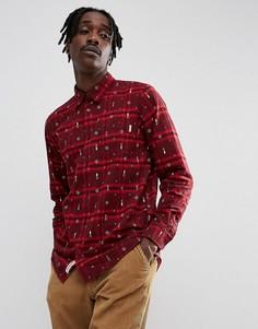 Рубашка Carhartt WIP Carlos Origin - Красный