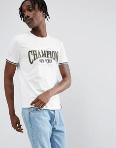 Футболка с логотипом Champion - Белый