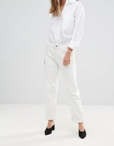 Широкие укороченные джинсы Bethnals Charlie - Кремовый