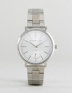Серебристые наручные часы Michael Kors MK3499 Jaryn - Серебряный
