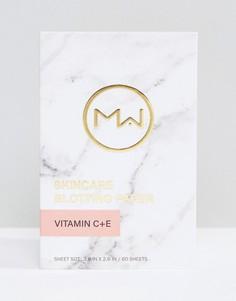 Матирующие салфетки с витамином С и Е Mai Couture - 60 шт. - Бесцветный Beauty Extras