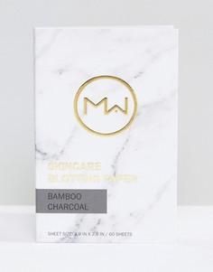 Матирующие салфетки с бамбуковым углем Mai Couture 60 шт. - Бесцветный Beauty Extras