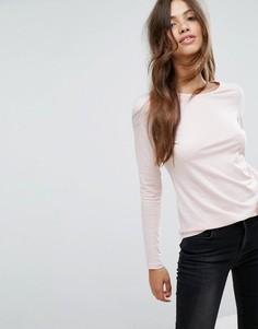 Лонгслив New Look - Розовый