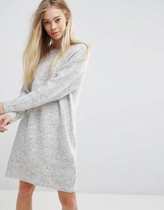 Платье-джемпер New Look - Серый