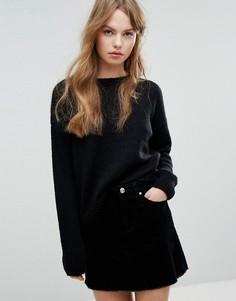 Длинный джемпер New Look - Черный