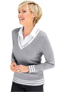 """Пуловер """"2 в 1"""""""