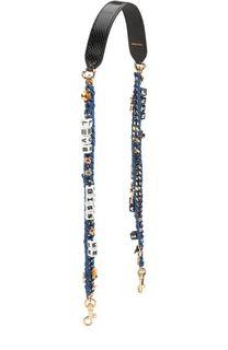 Ремень для сумки на цепочке с аппликациями Dolce & Gabbana