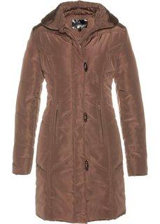 Стеганая куртка (темно-коричневый) Bonprix