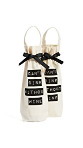 Bag-all Cant Dine Without Wine 2 Pack