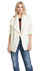 Fuzzi Long Sleeve Coat