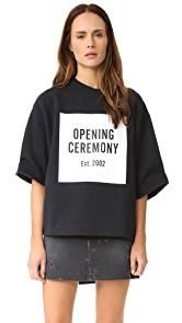 Opening Ceremony Logo Sweatshirt Tee