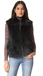 SAM. Lola Fox Fur Vest