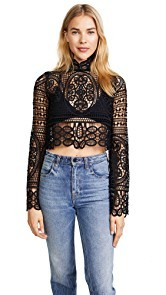 Stone Cold Fox Perkins Crop Top