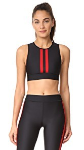 Ultracor Level Matte Collegiate Crop Top