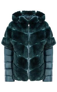 Жакет-трансформер из меха кролика Virtuale Fur Collection