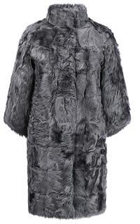 Пальто из меха козлика на синтепоне Virtuale Fur Collection