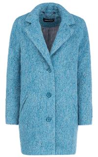 Фактурное пальто О-силуэта La Reine Blanche