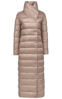 Стеганое пальто на натуральном пуху Neohit