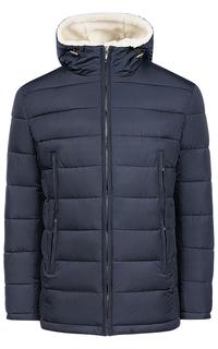 Утепленная куртка с отделкой искусственным мехом Urban Fashion for men