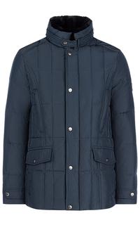 Зимняя куртка с отделкой мехом кролика Al Franco