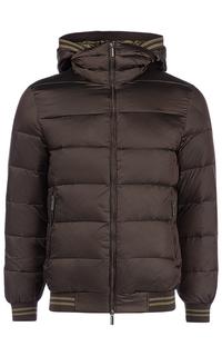 Утепленная куртка с отделкой из трикотажа Urban Fashion for men