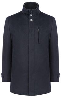 Пальто на синтепоне с отделкой трикотажем Al Franco