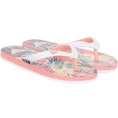 Шлепанцы детские Roxy Rg Tahiti V Peach Parfait/Sea