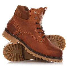 Ботинки зимние Wrangler Yuma Fur Rust