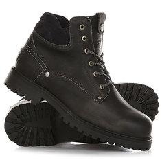 Ботинки зимние Wrangler Yuma Leather Fur Anthracite