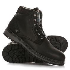 Ботинки зимние Wrangler Miwouk Fur Black