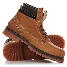 Ботинки зимние Wrangler Yuma Leather Fur Cognac