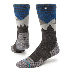 Носки высокие Stance Adventure Mens Divide Black