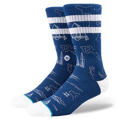 Носки высокие Stance Blue Navigator