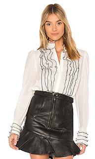 Блузка с длинным рукавом sabine - Aje