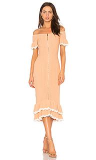 Платье с открытыми плечами just because - Alice McCall