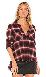 Рубашка с разрезом сзади и бахромой - Bella Dahl