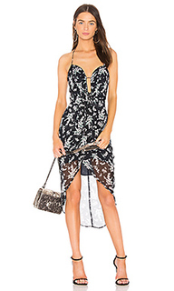 Платье с асимметричным подолом coda - ELLIATT