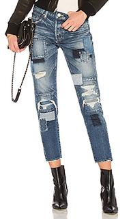 Зауженные джинсы laurel patched - Moussy