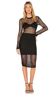 Платье миди farren - NBD