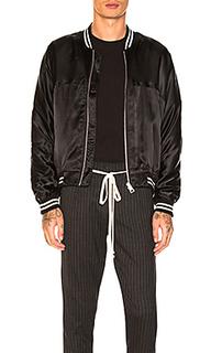 Шелковая куртка-бомбер - REPRESENT