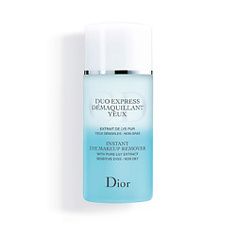 DIOR Двухфазное средство для мгновенного снятия макияжа с глаз с экстрактом чистой лилии Duo Express Demaquillant Yeux 125 мл