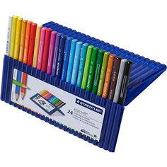 Карандаш цветной Ergosoft трехгранный, набор 24 цвета Staedtler