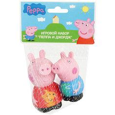 """Игровой набор  """"Пеппа и Джордж"""" 10 см, Свинка Пеппа Росмэн"""