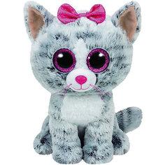 Кошка (серая) Kiki, 25 см TY