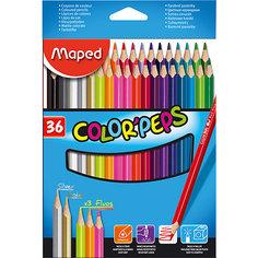 Набор цветных карандашей COLORPEPS, 36 цв. Maped