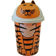 Корзина для игрушек 10 л. Jungle, Little Angel, оранжевый
