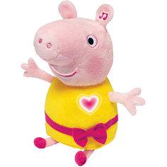 """Мягкая игрушка """"Пеппа"""",30 см, речь, свет и звук, Свинка Пеппа Росмэн"""