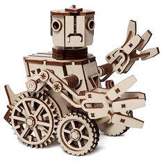 """Деревянный  3D конструктор подвижный """"Робот Макс"""", Lemmo"""