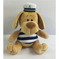 "Мягкая игрушка TEDDY ""Собака морячок"", 15 см"